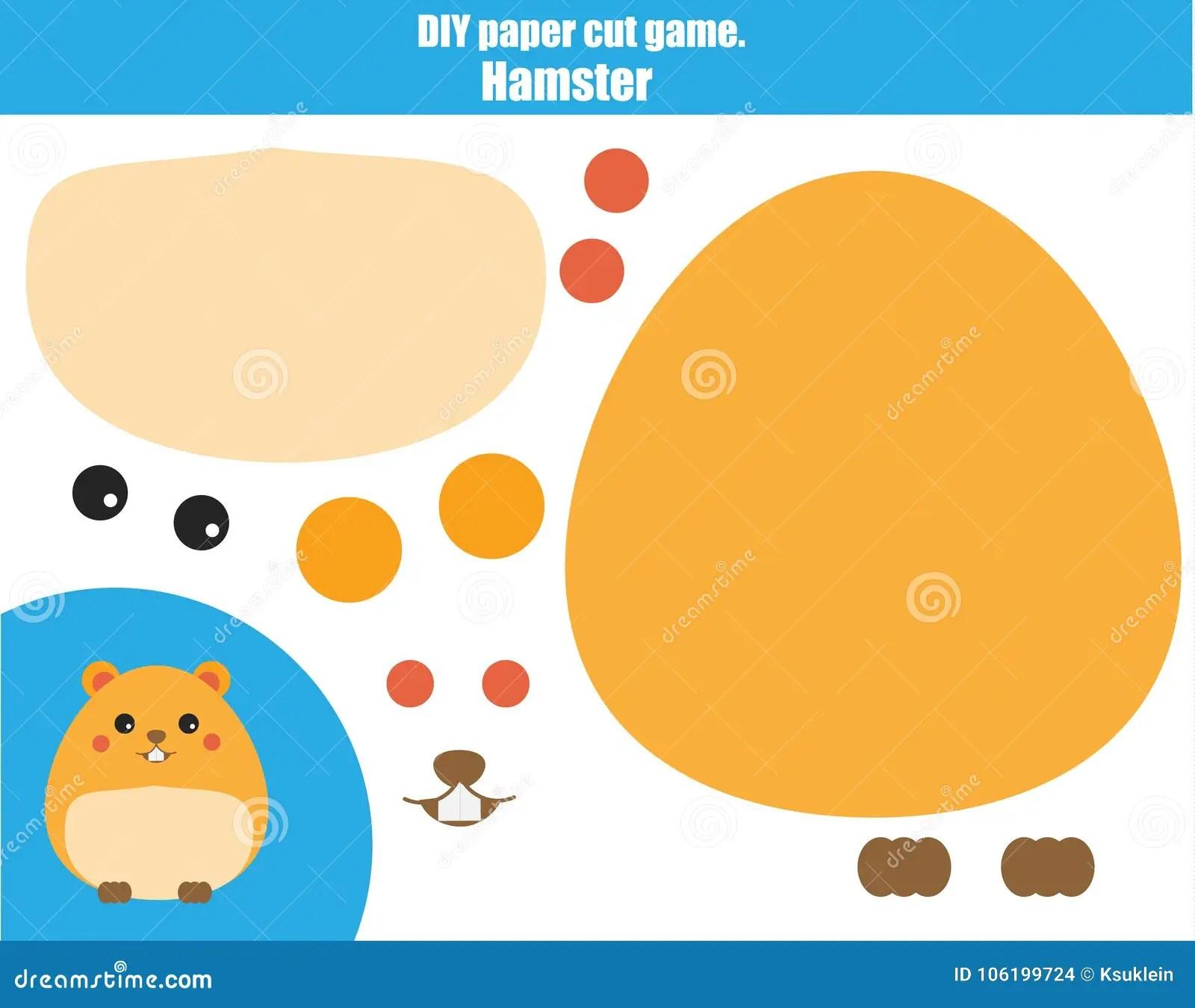 Diy Children Educational Creative Game Make A Hamster