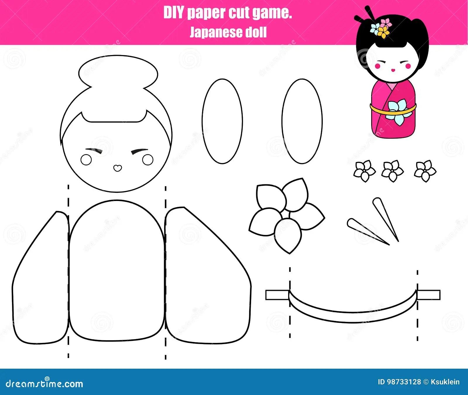 Diy Children Educational Creative Game Make A Japanese