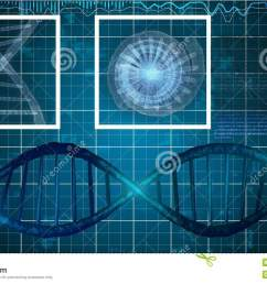 a neo geo 3d rendering of silver dna spirals with formulas nearby in the blue background two white squares are imposed on a gray spiral and a star looking  [ 1300 x 821 Pixel ]