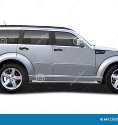 suv car dodge nitro isolated on white [ 1300 x 835 Pixel ]