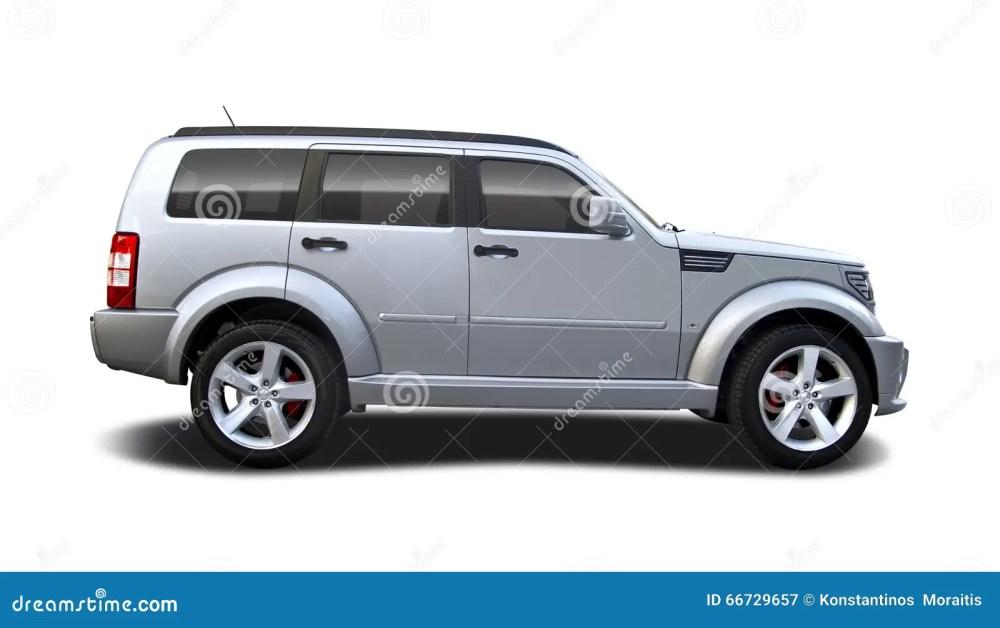 medium resolution of suv car dodge nitro isolated on white