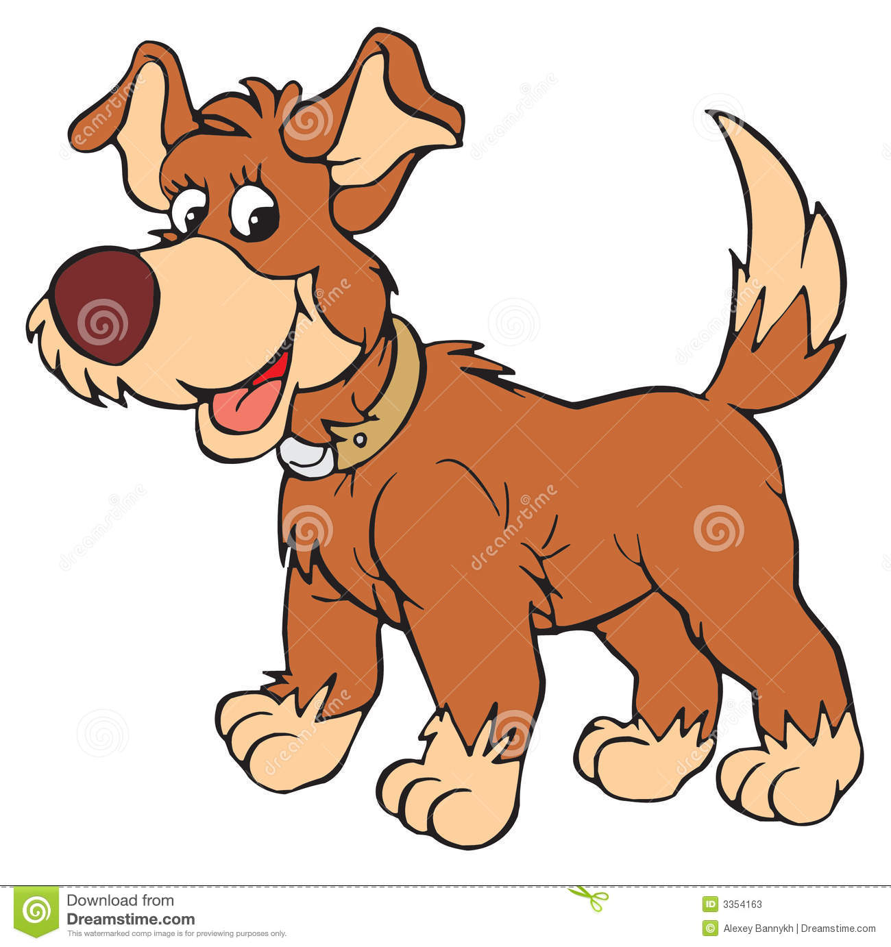 hight resolution of dog vector clip art stock illustration