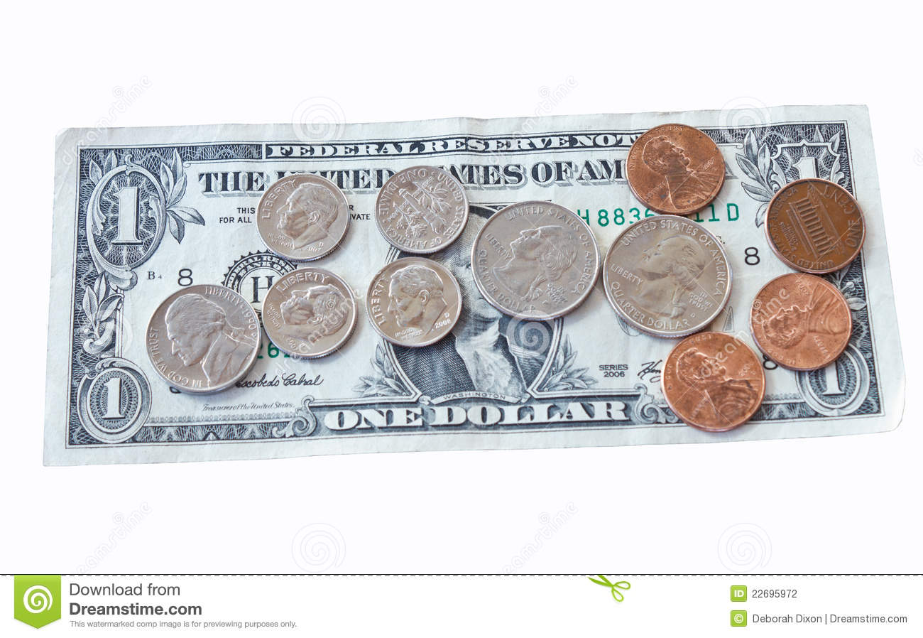 A Dollar And 99 Cents Stock Photography