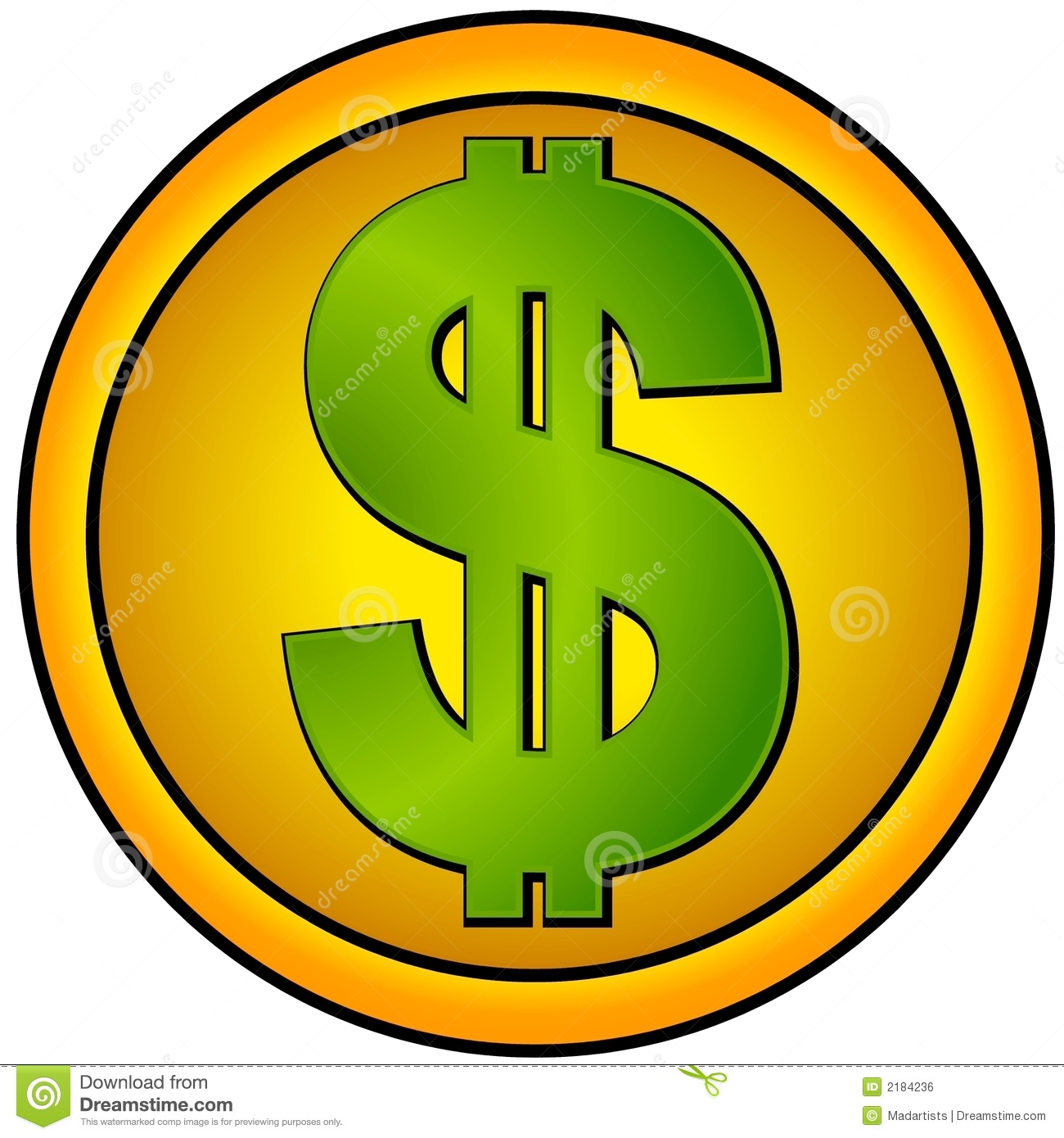 hight resolution of dollar sign icons gold circle