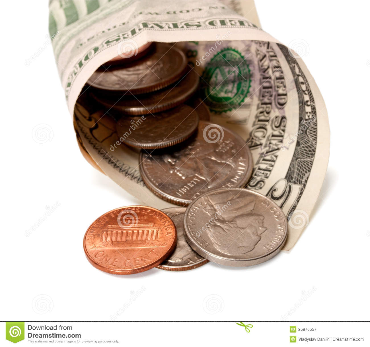 Dollars And Cents Stock Image Image Of Chart Money