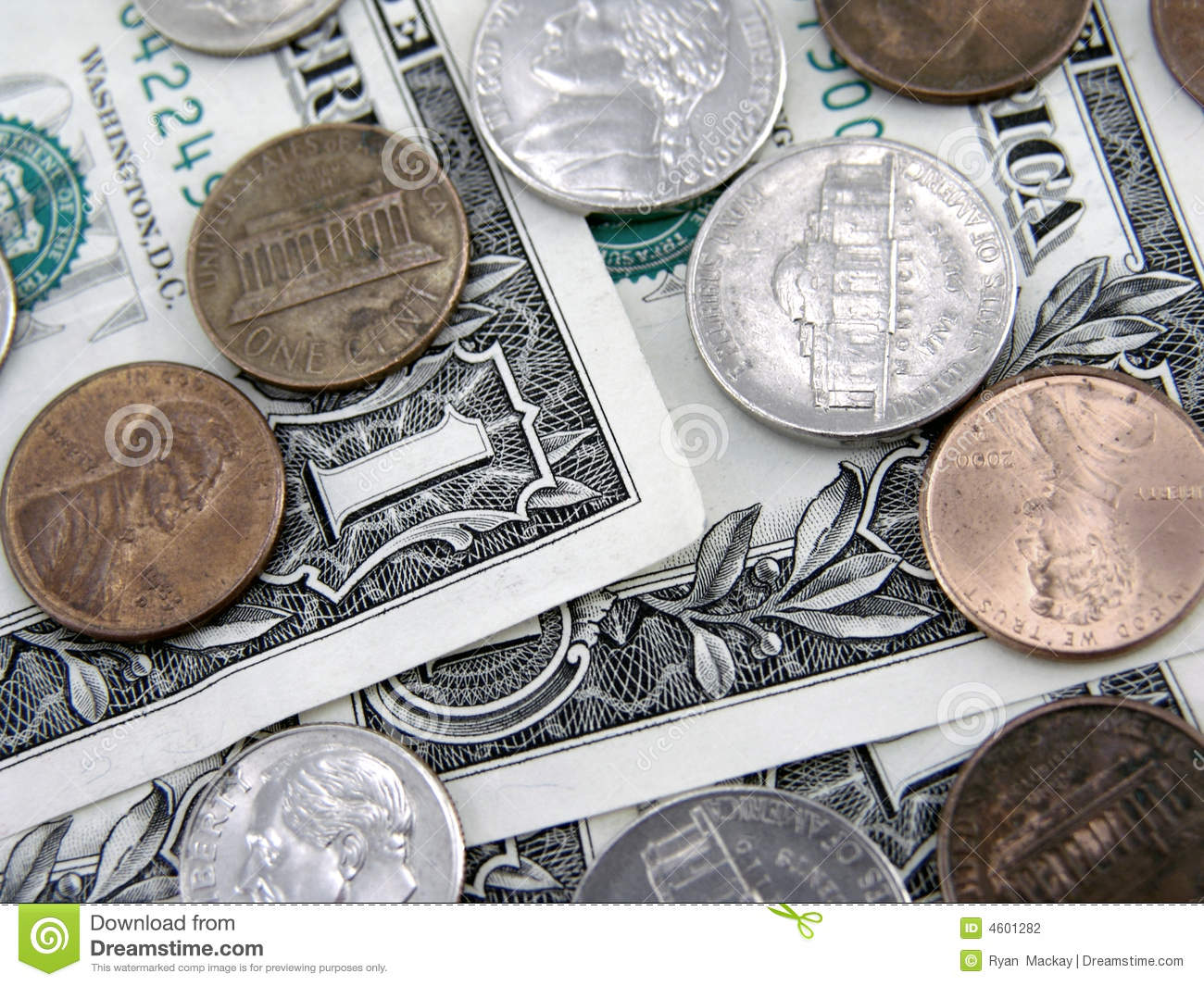 Dollars And Cents Stock Photo Image Of Currency Success