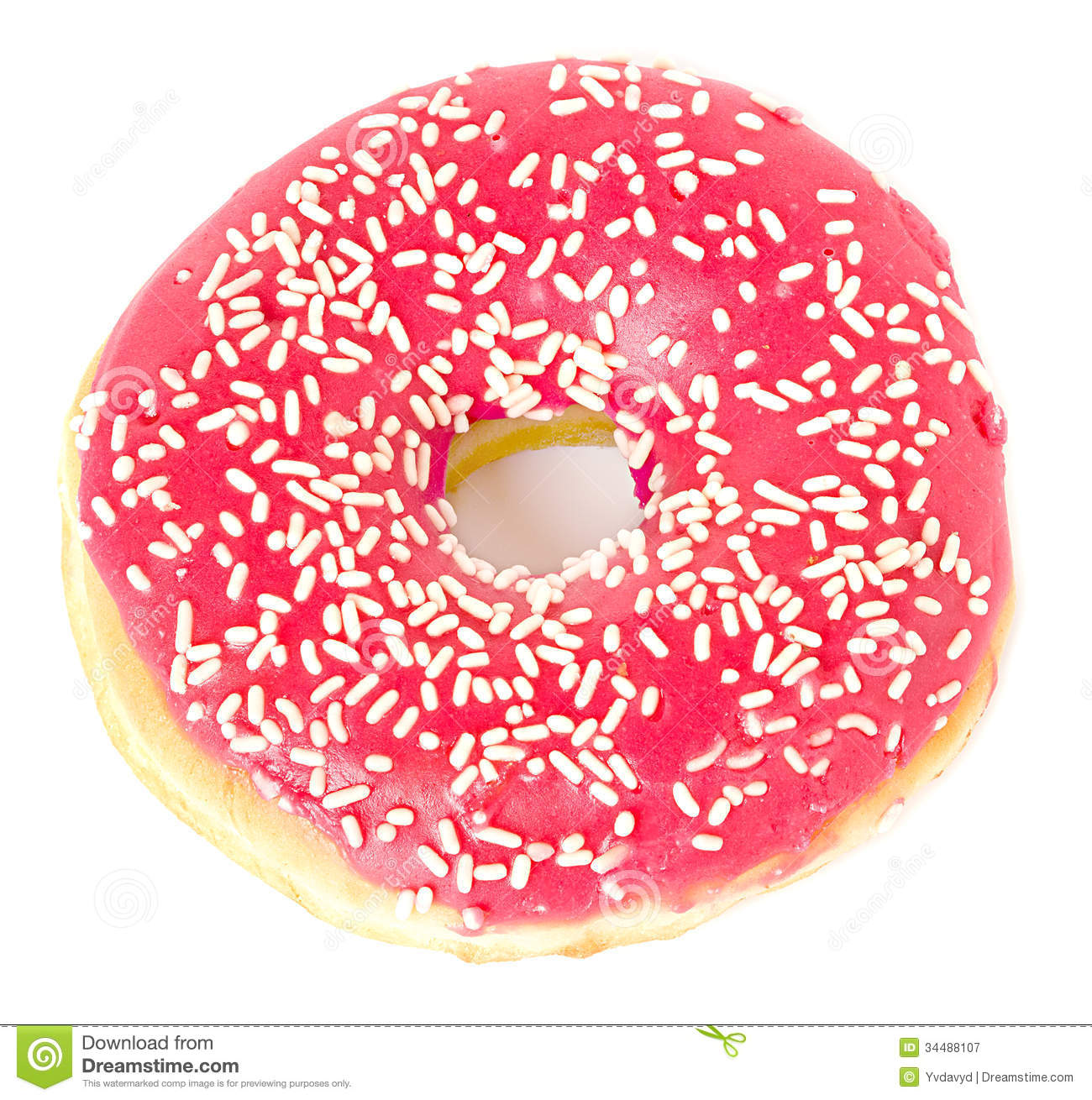 Strawberry Donut Frosted