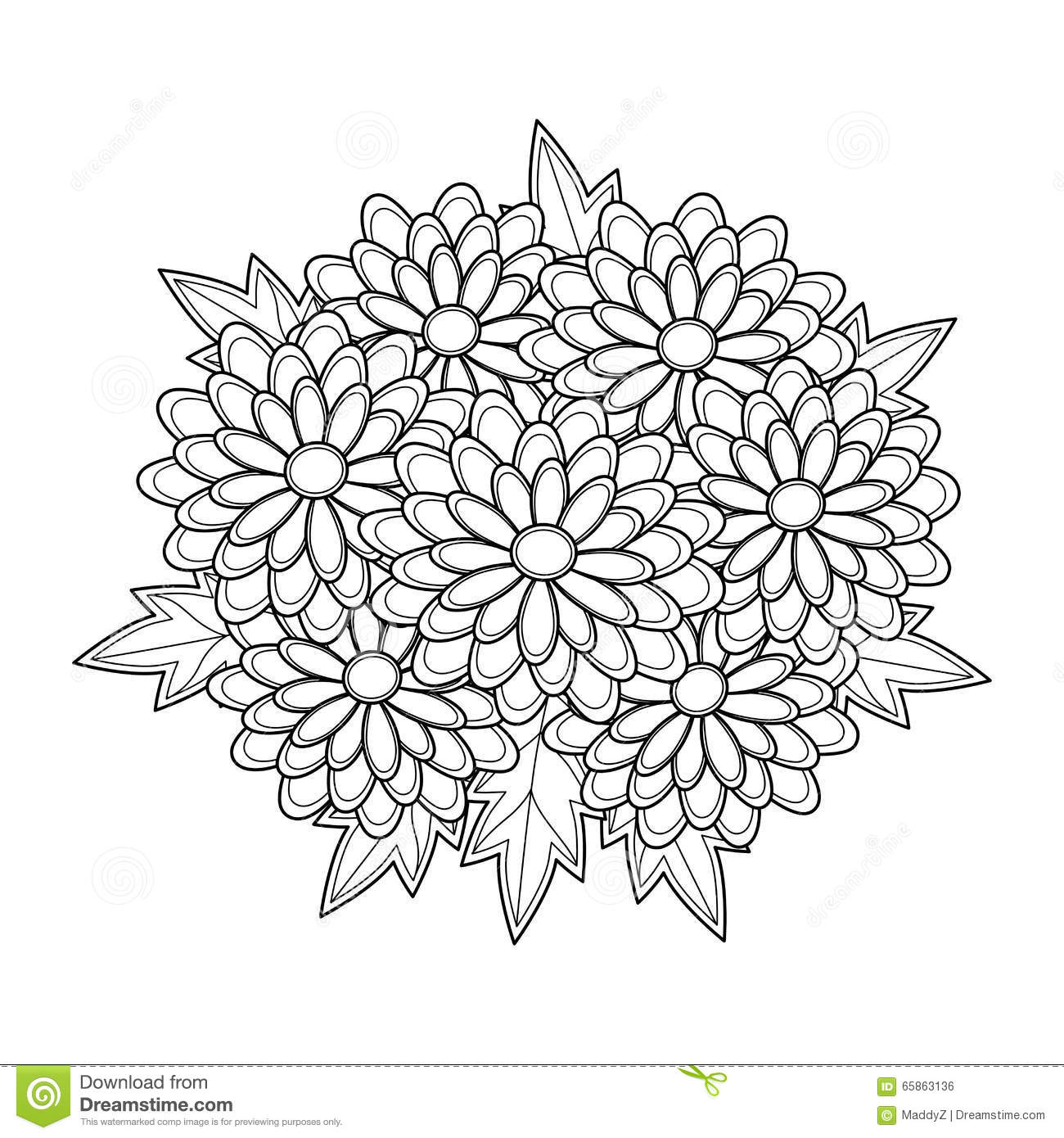 Chrysanthemum Book Coloring Pages