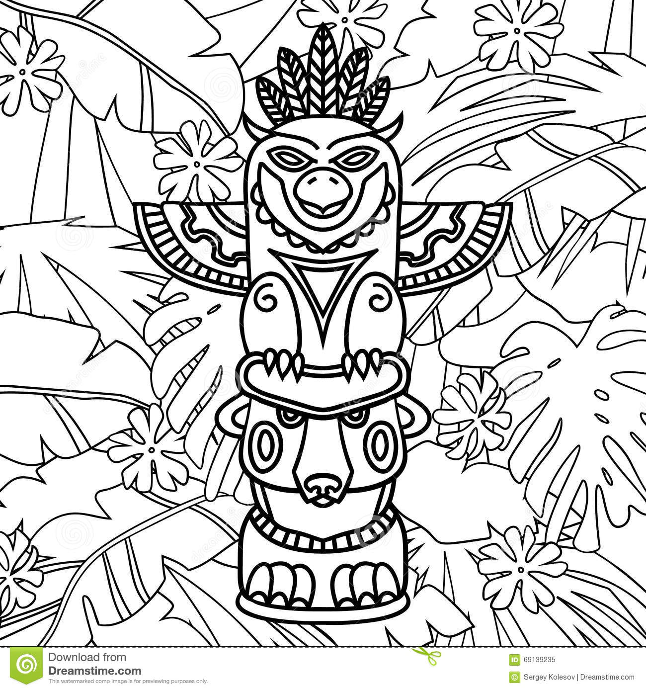 Printable Totem Pole Worksheet