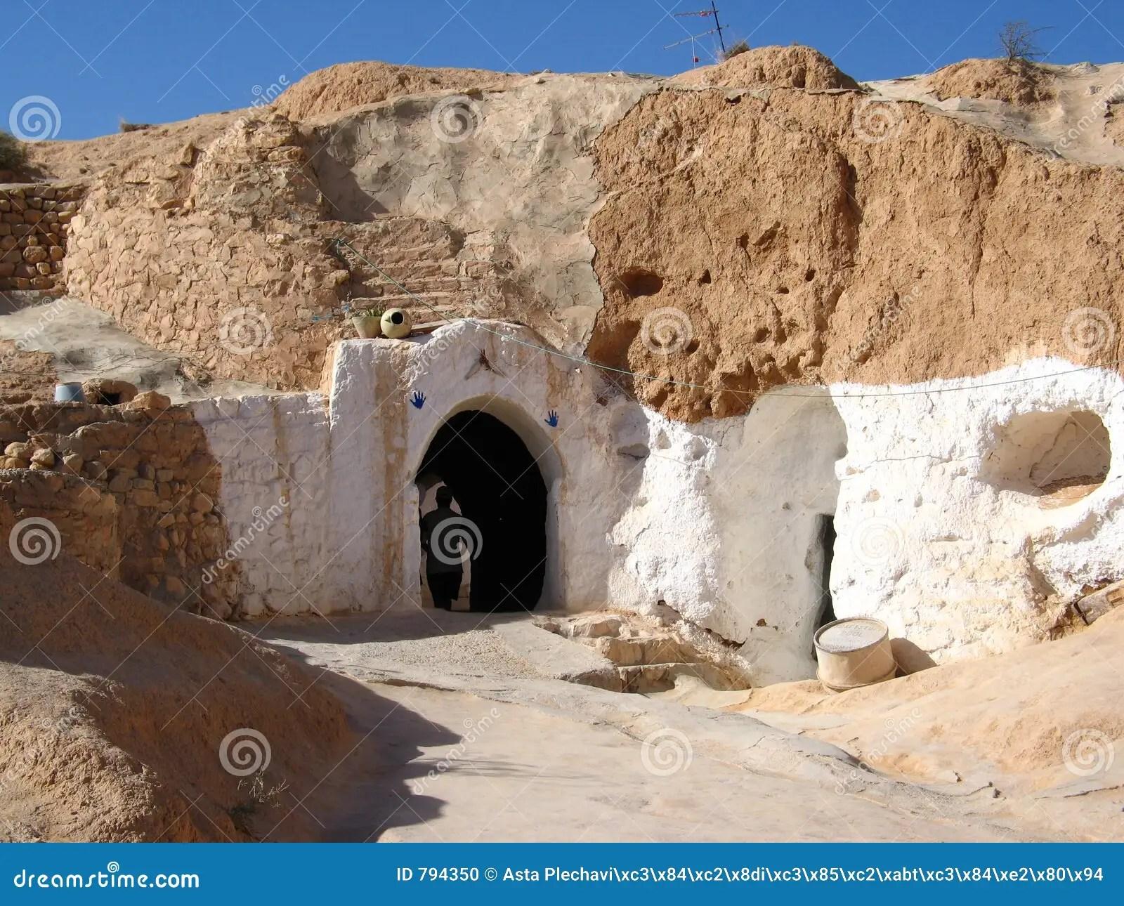 Door To Matmata Underground House Stock Photo  Image 794350