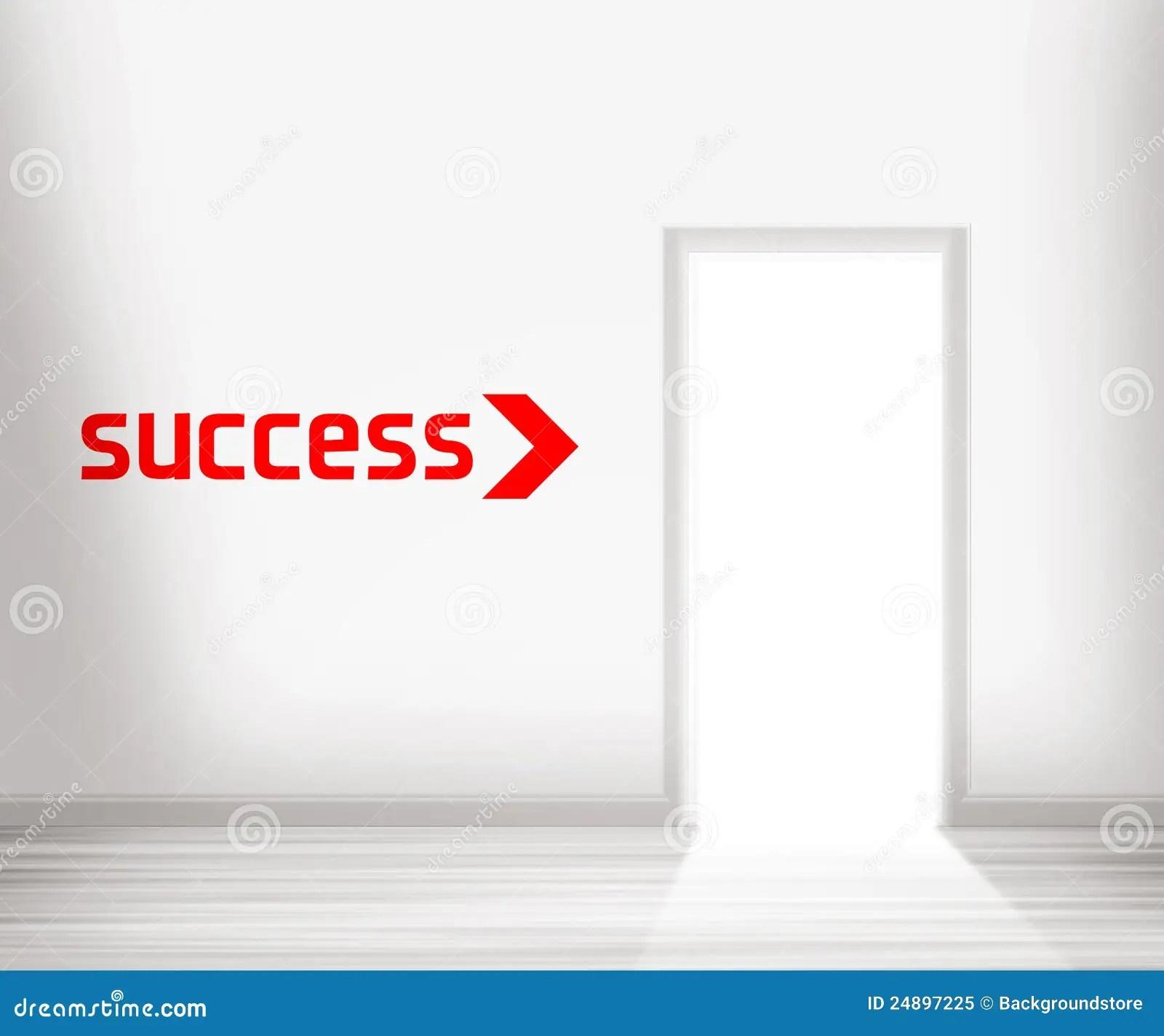 Door To Success Royalty Free Stock Photo - Image: 24897225