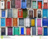 Doors of Dublin, Ireland stock photo. Image of historic