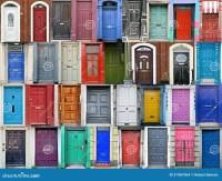 Doors of Dublin, Ireland stock photo. Image of historic ...