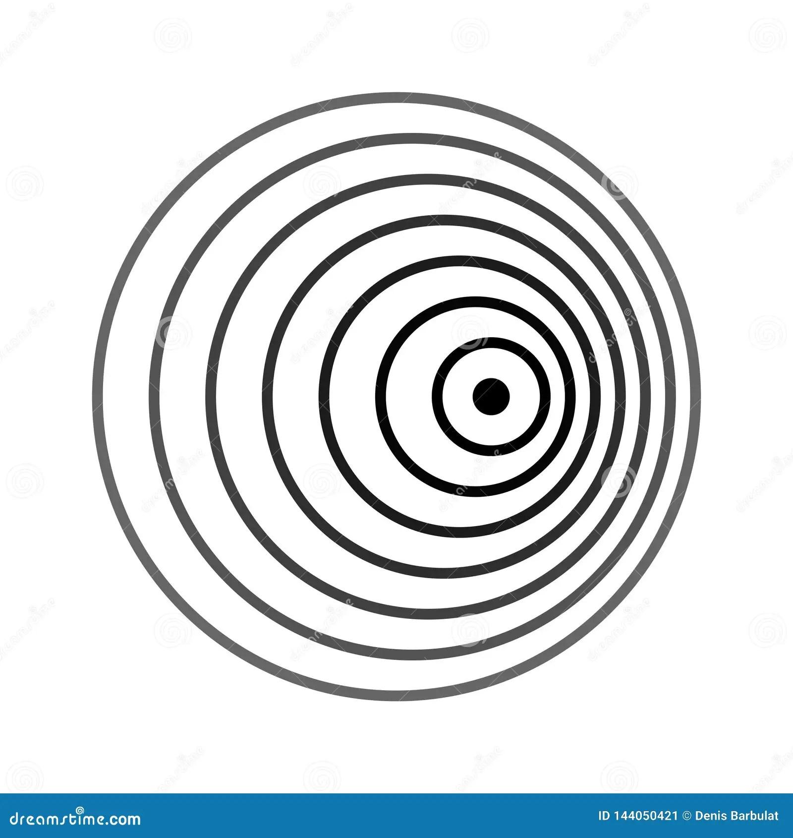 Doppler Effect Doppler Shift Stock Vector