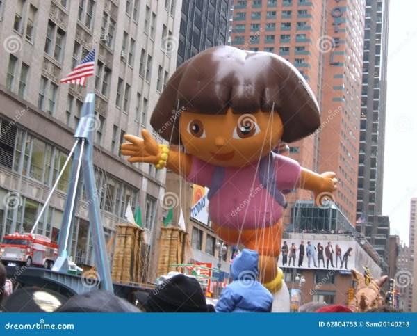 Dora Explorer Balloon Macy' Thanksgiving Day