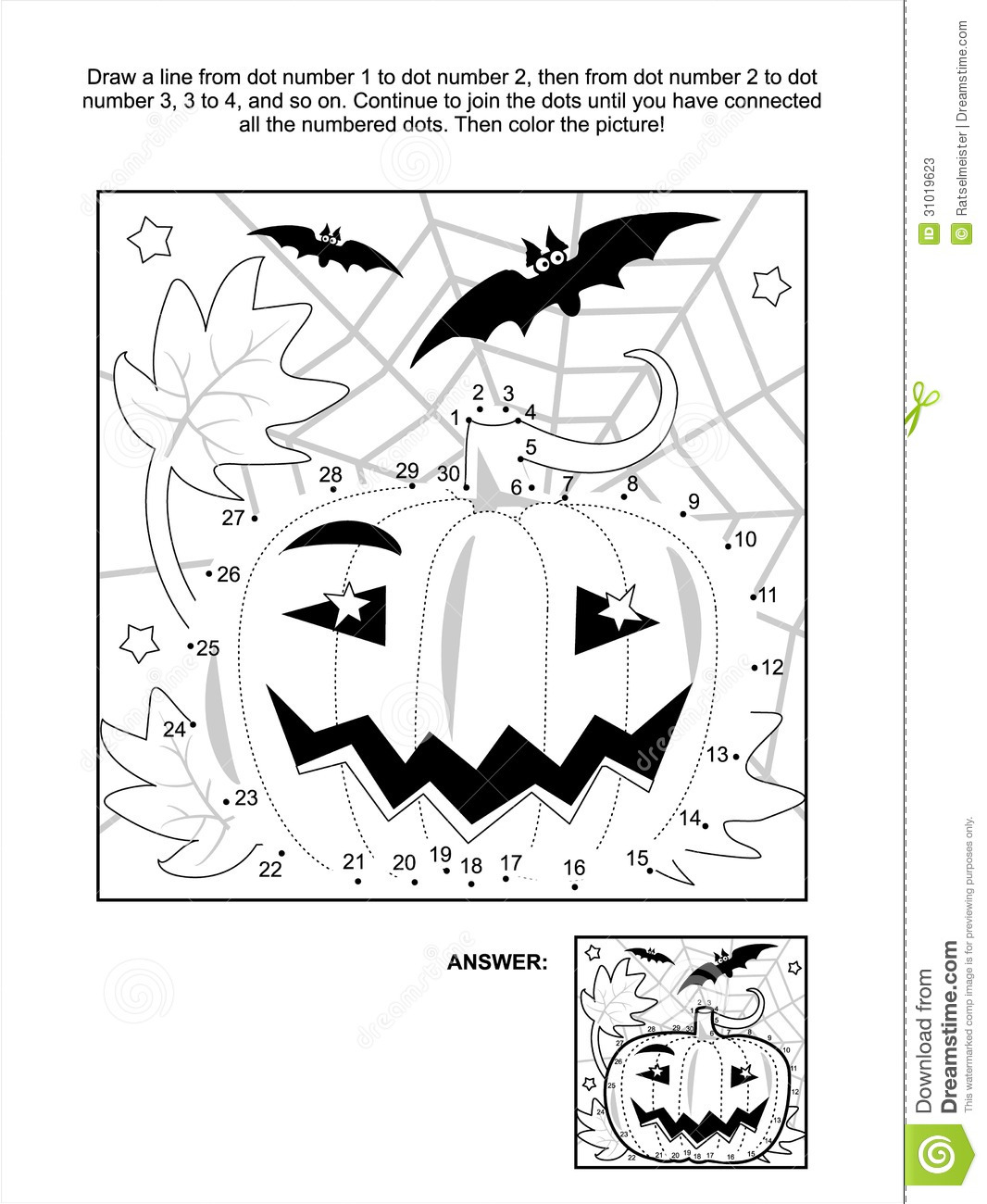Free Coloring Pages Of Extreme Dot To Dot Puzzle
