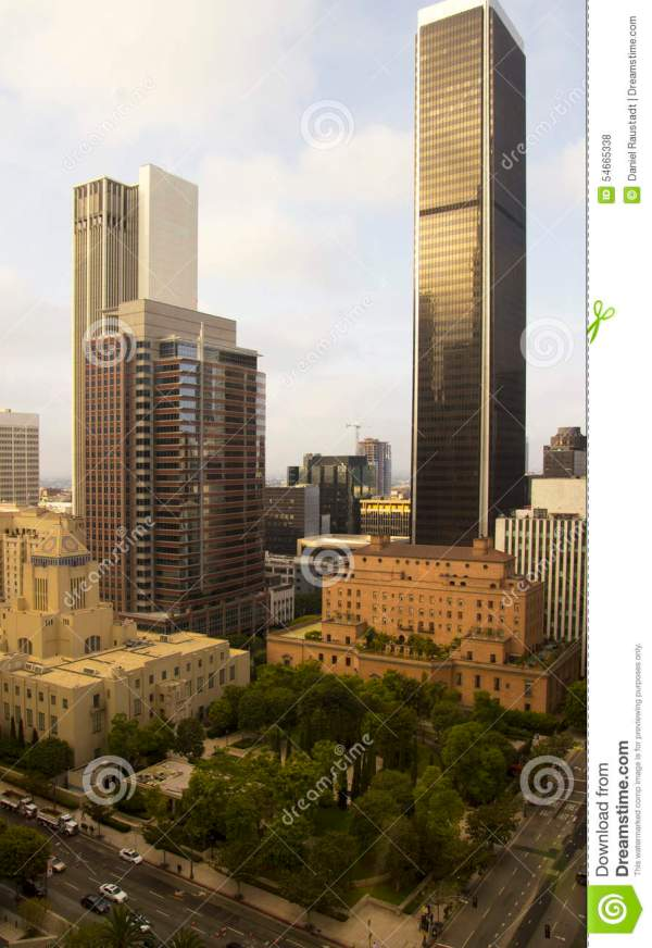 downtown city of los angeles california