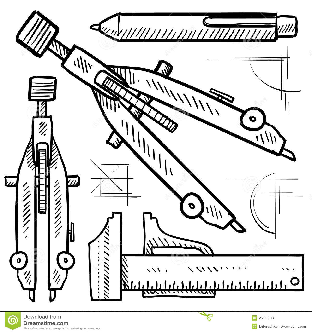 free tool to draw architecture diagram house electrical wiring pdf drafting and architectural tools sketch stock images