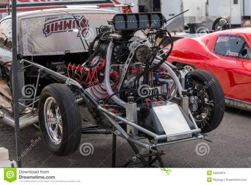 small resolution of drag car engine