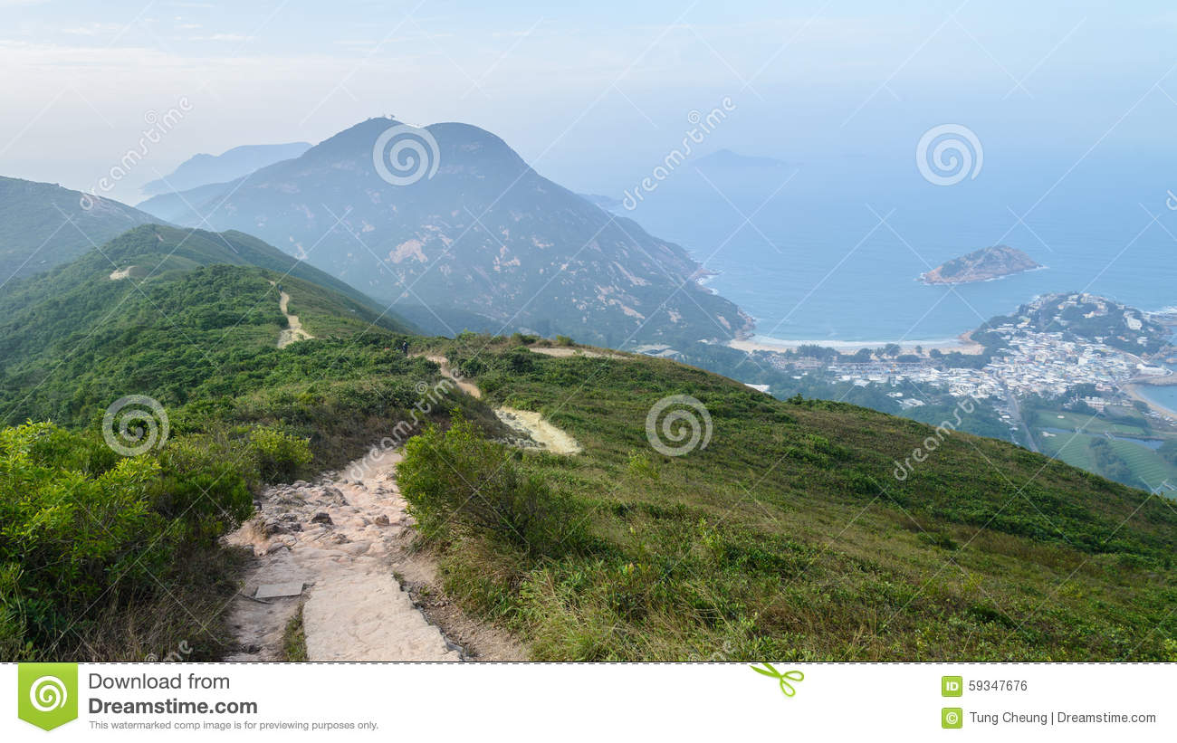 Dragon's Back in Hong Kong editorial photo. Image of country - 59347676