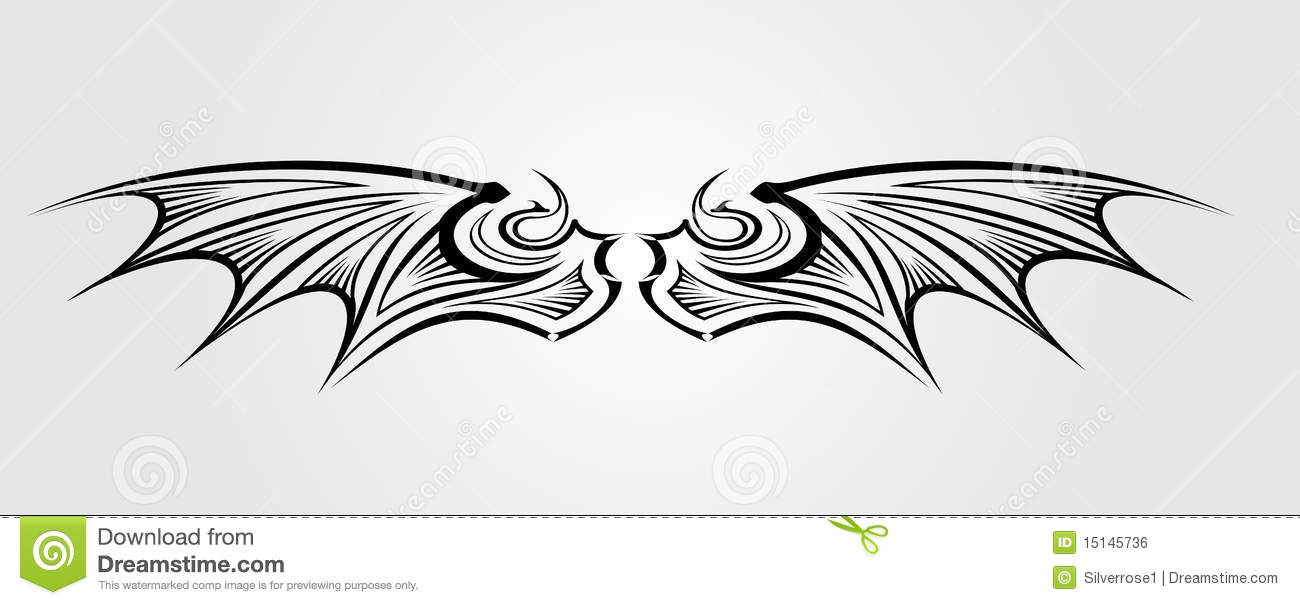 Feather Pattern Template