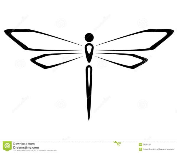 dragonfly stock vector. illustration