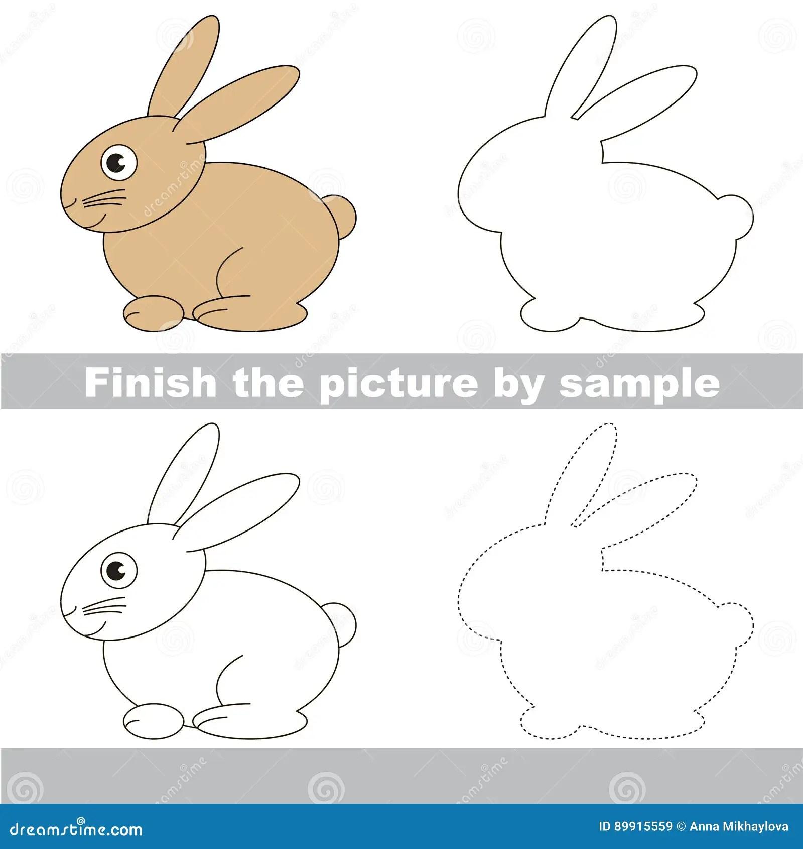 Drawing Worksheet For Children Stock Vector