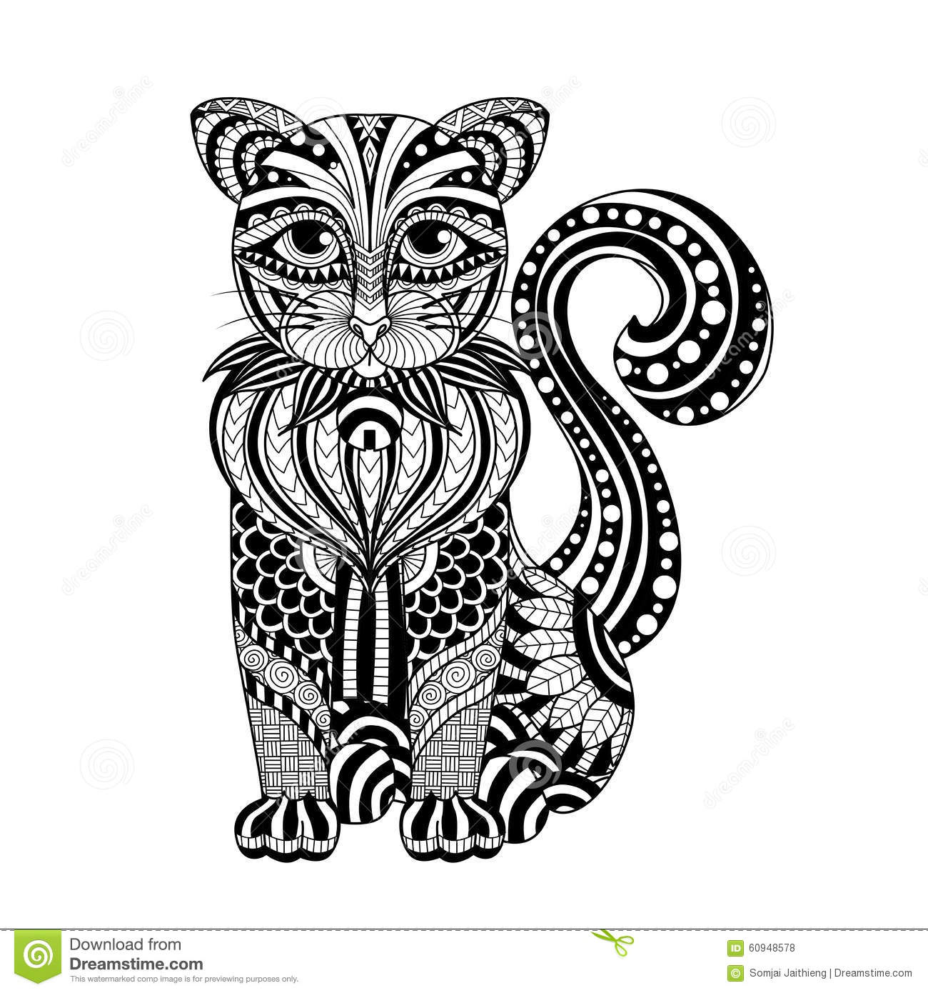 Free coloring pages of maori pattern