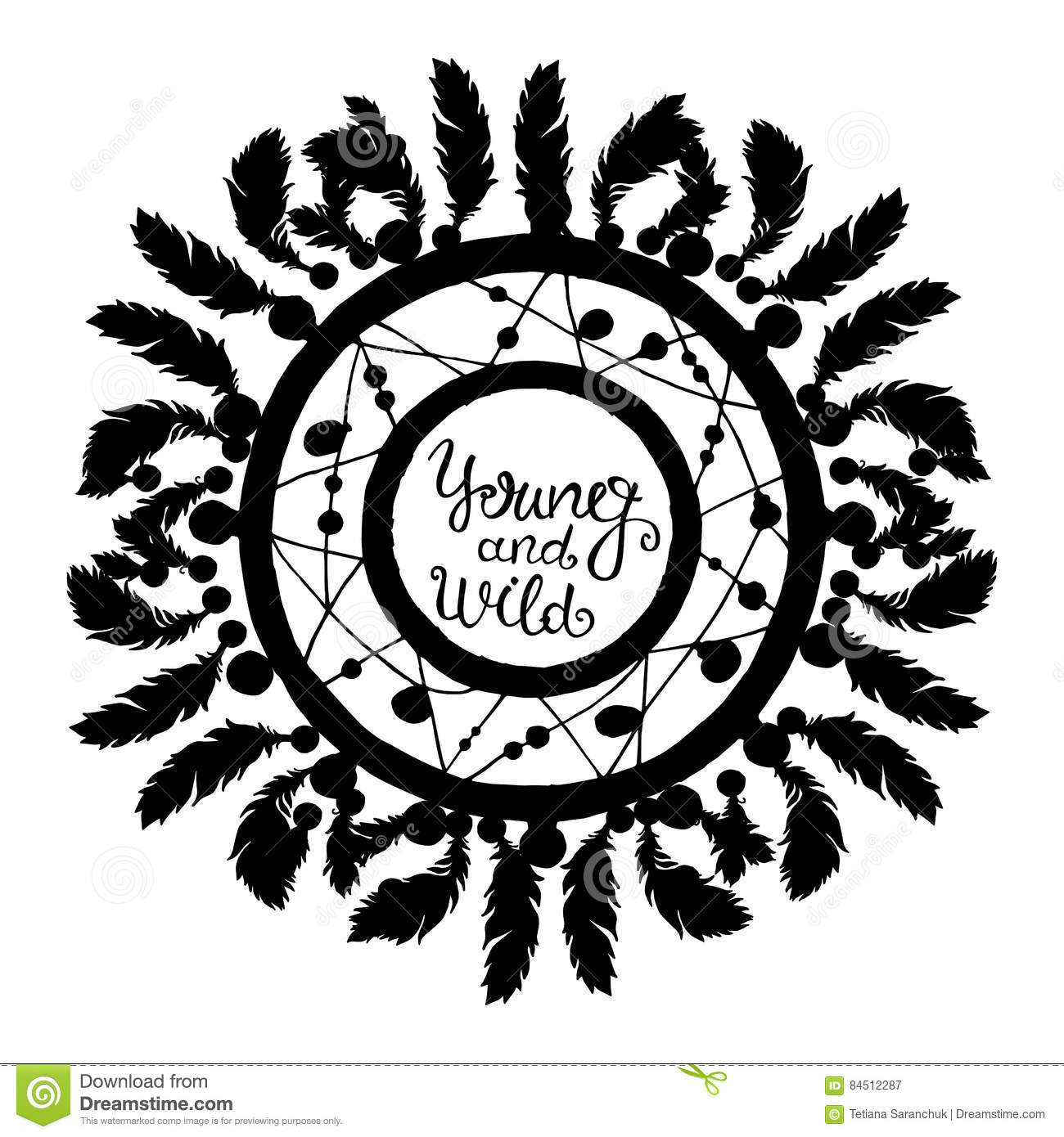 Dream Catcher Drawings Sketch Coloring Page