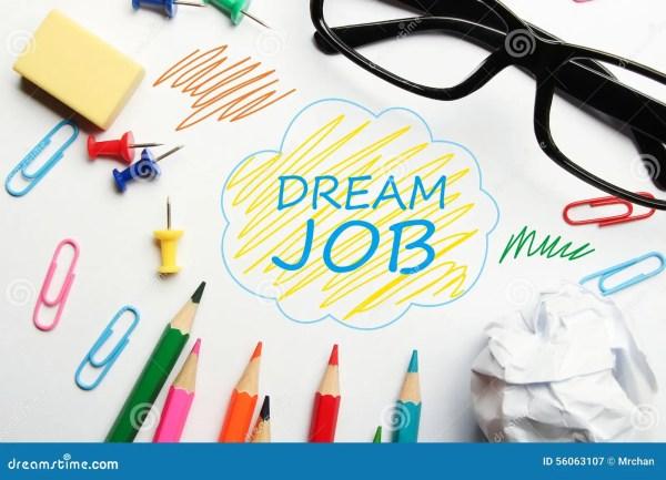 dream job stock of