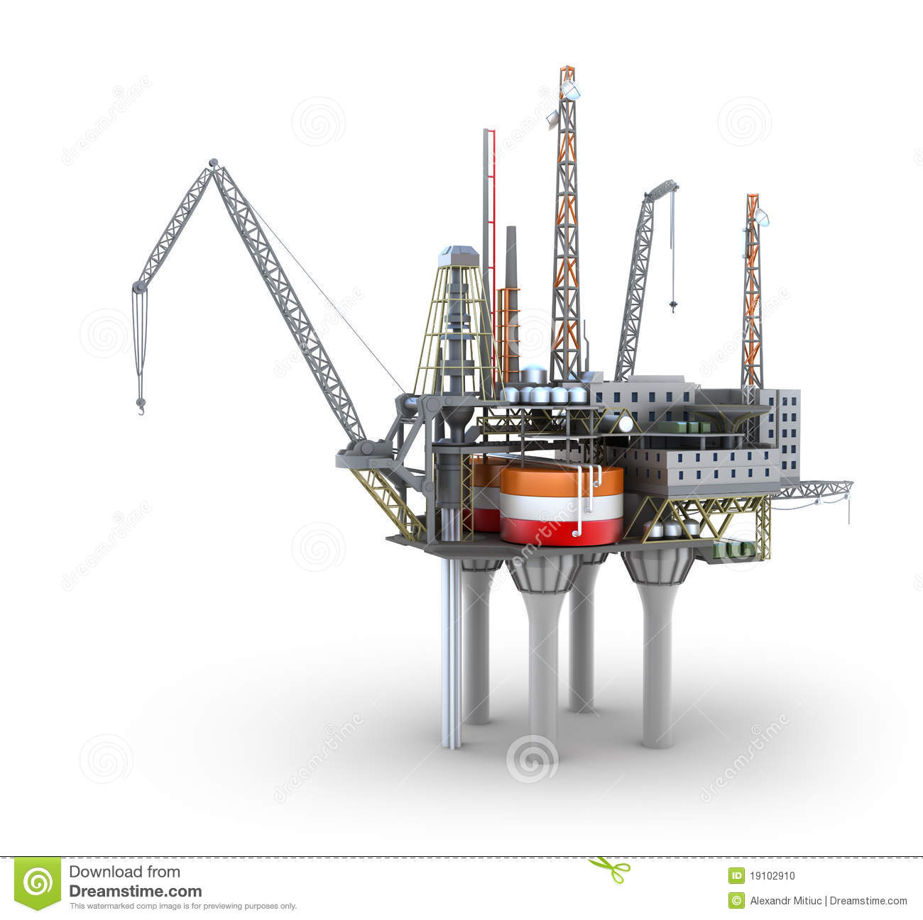 z rig diagram valeo wiper motor wiring drilling offshore platform stock illustration