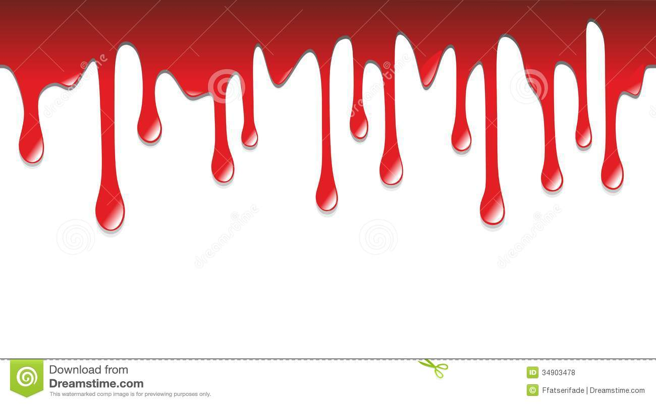hight resolution of dripping blood