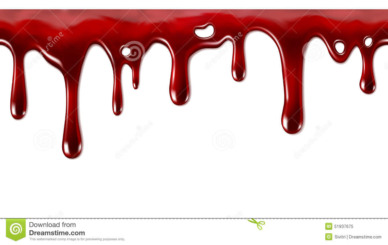 hight resolution of dripping blood seamless repeatable
