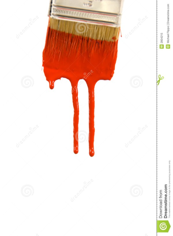 Dripping Paint Royalty Free Stock - 2804215
