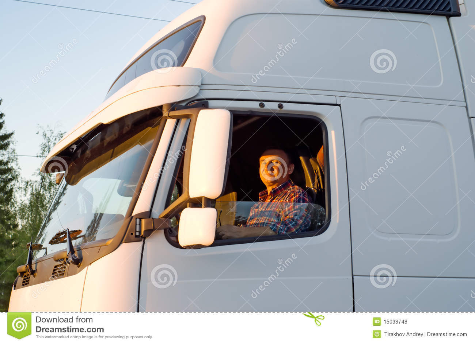 Semi Truck Driver Cover Letter