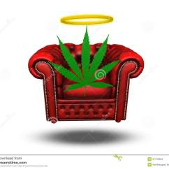 Wheelchair Weed Leather Wingback Chairs Cape Town Drug Stock Illustration Of Contemplation