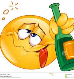 drunk emoticon [ 1300 x 1146 Pixel ]