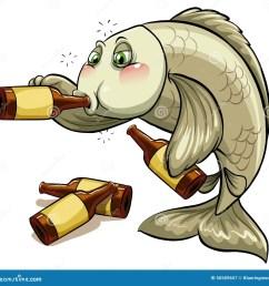 drunk fish stock illustrations 138 drunk fish stock illustrations vectors clipart dreamstime [ 1300 x 1310 Pixel ]