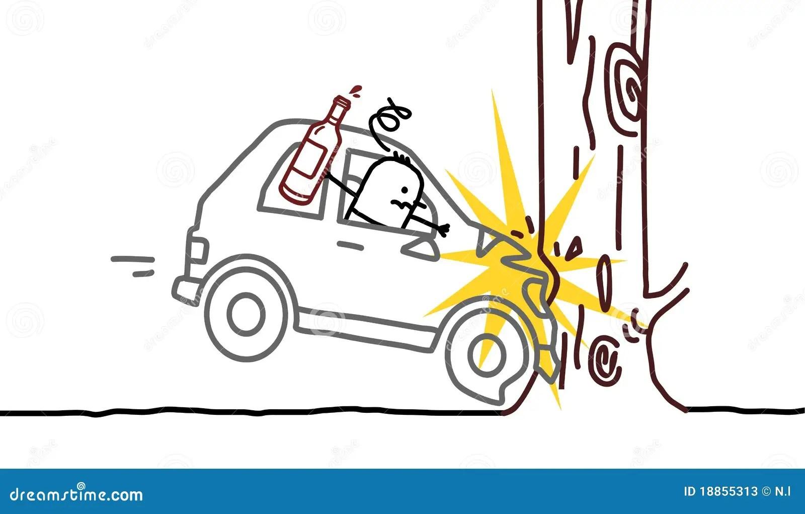 Easy To Draw A Car Crash