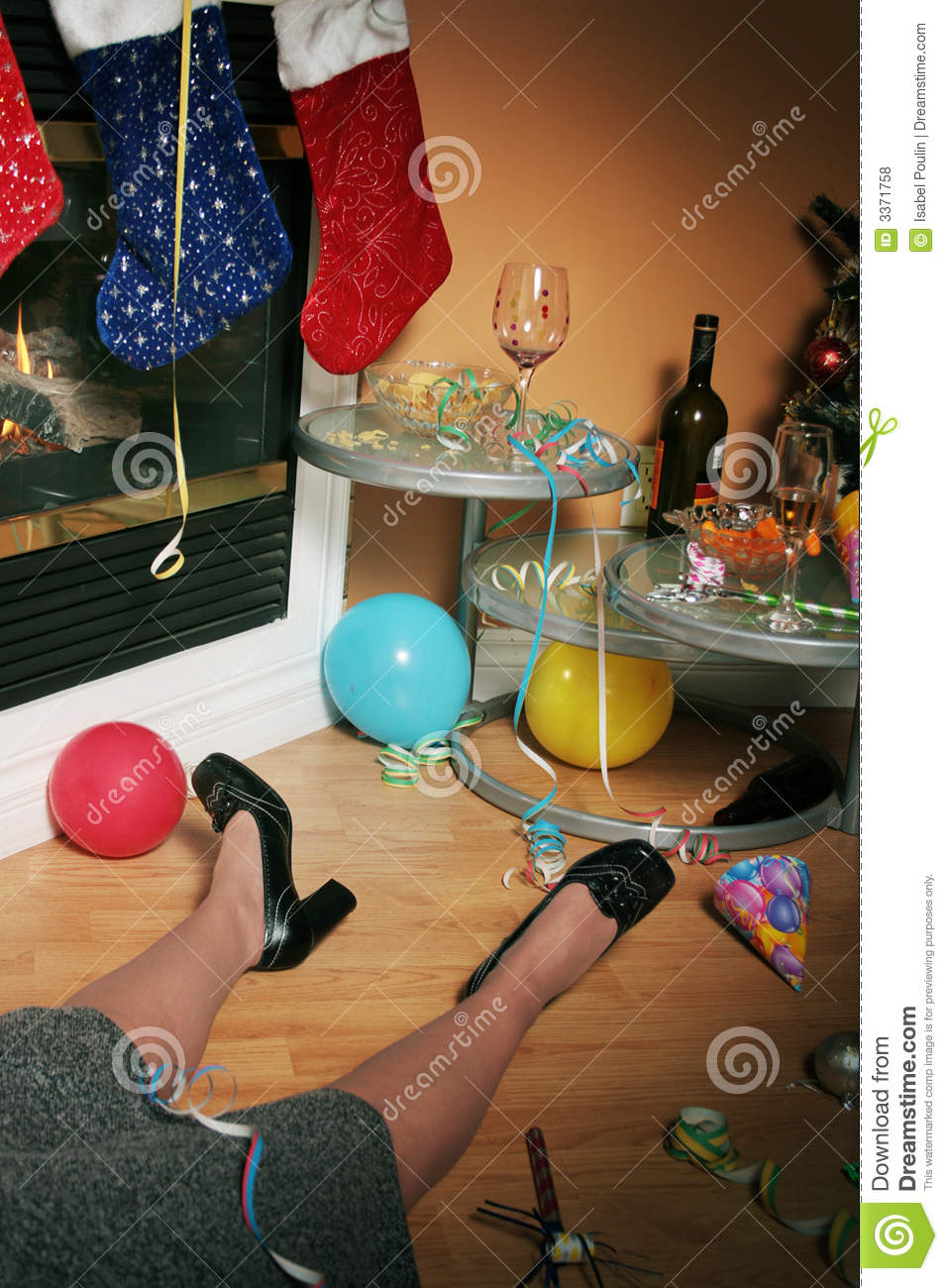 Drunk At Office Party Royalty Free Stock Photos  Image