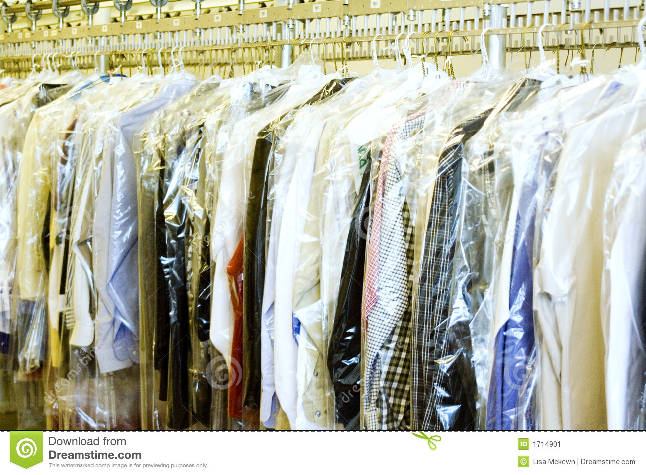 Dry Cleaners Stock Image  Image 1714901