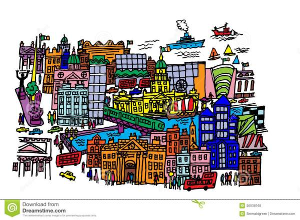 City Center Clip Art