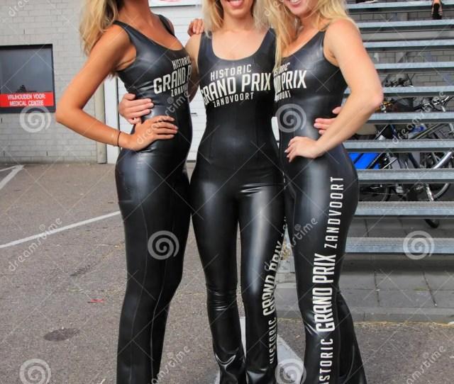 Dutch Grid Girls Promotion Team Zandvoort