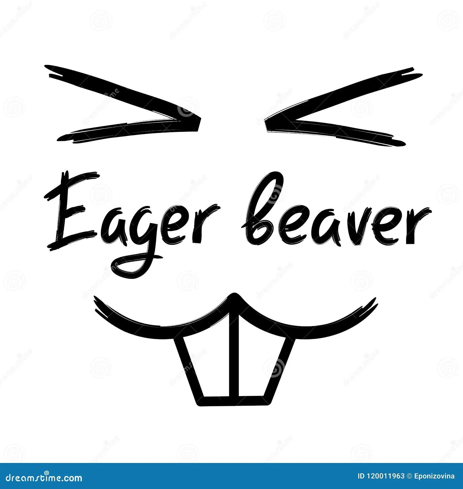 Beaver S Work Royalty Free Stock Image