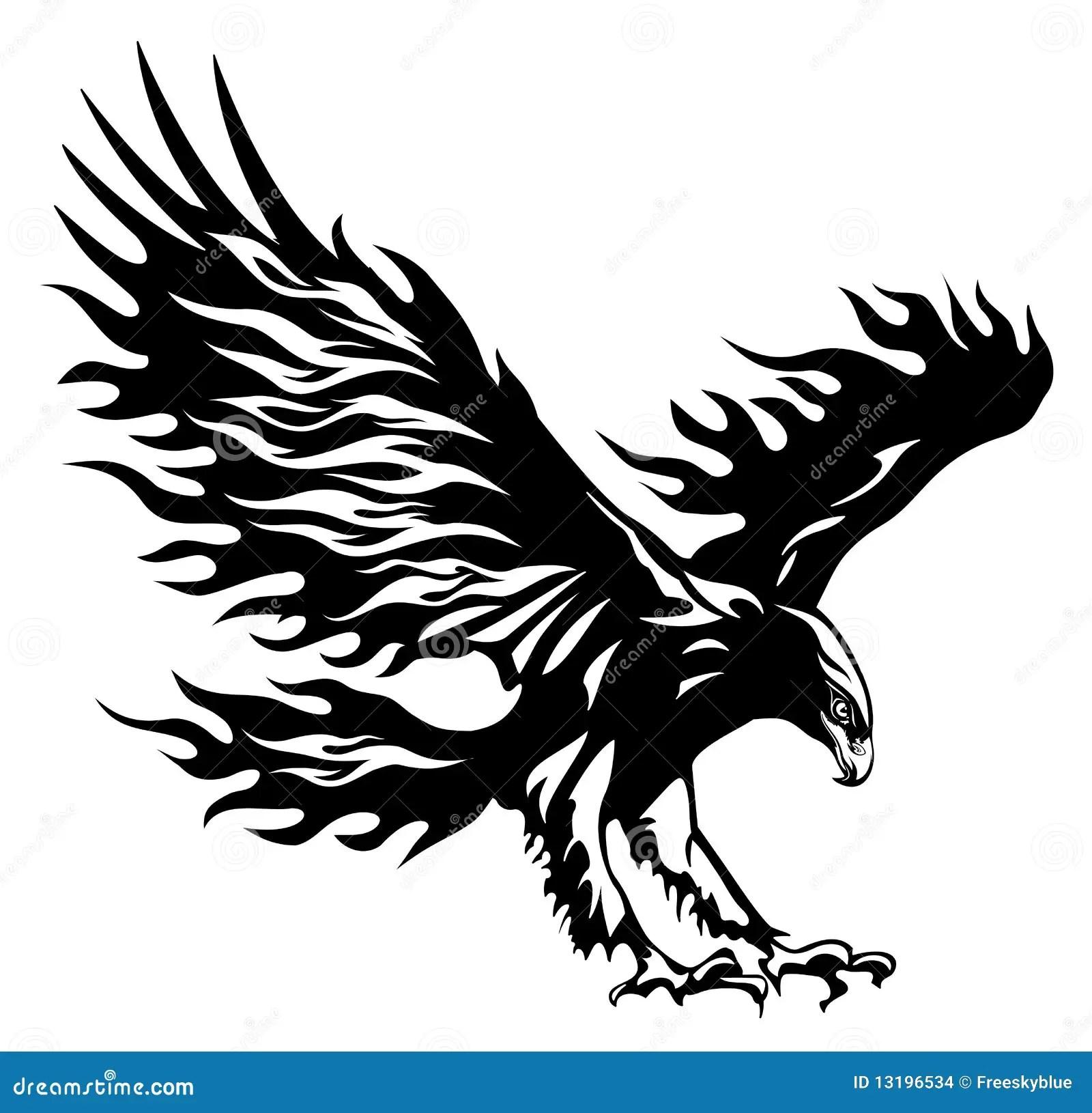 Eagle Stock Illustration Illustration Of Landing Freedom