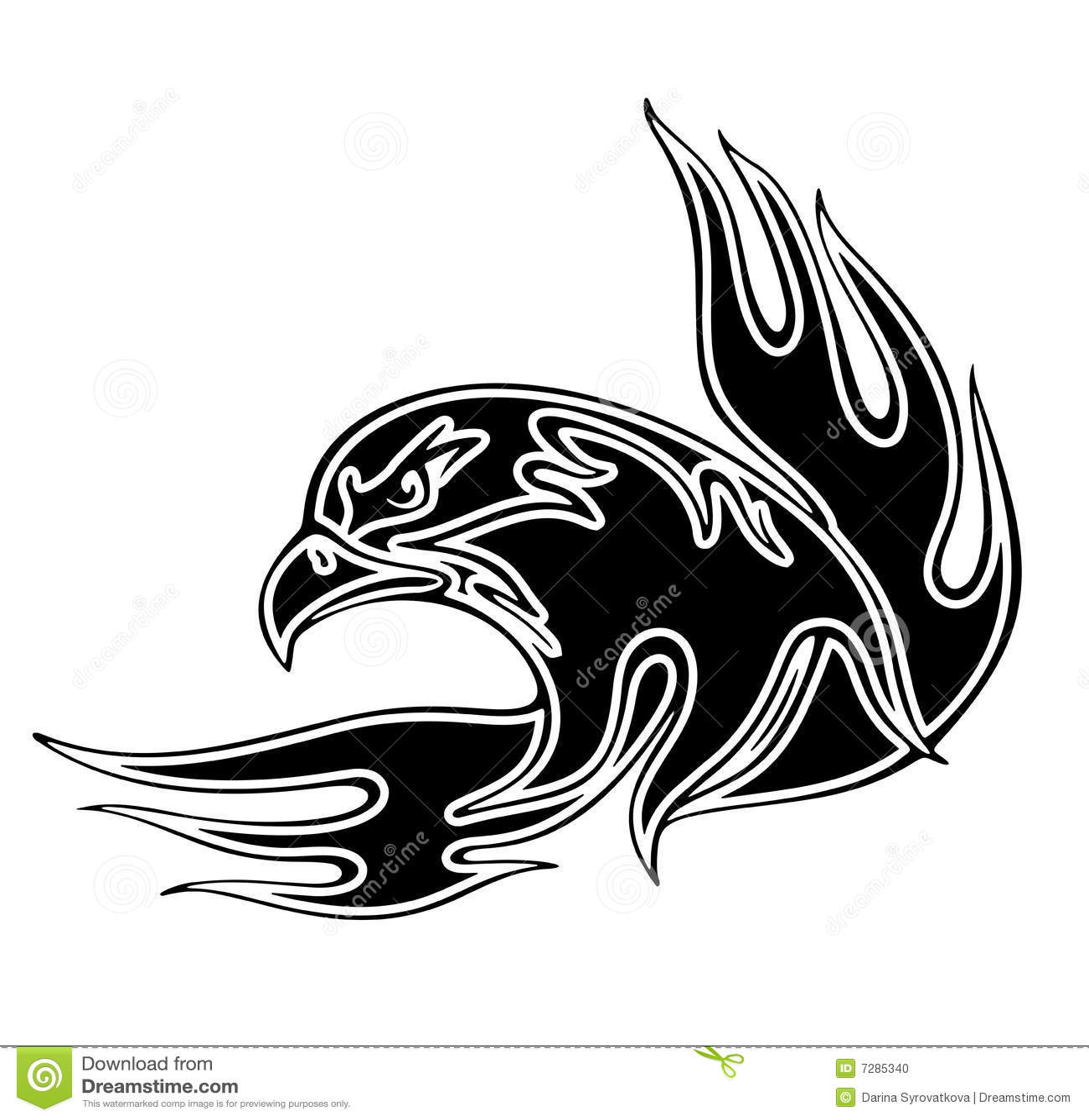 Eagle Emblem Stock Vector Illustration Of Bird Emblem