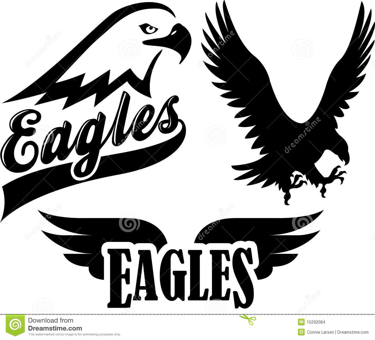 hight resolution of collection of mascot graphics for school or sport team add team colors with the eps file