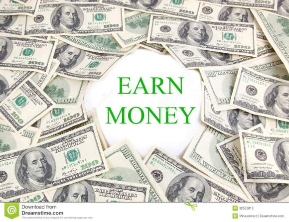 Earn Money stock photo. Image of banking, growth ...