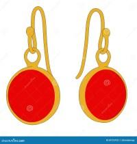 Earrings - jewellry stock illustration. Image of earings ...
