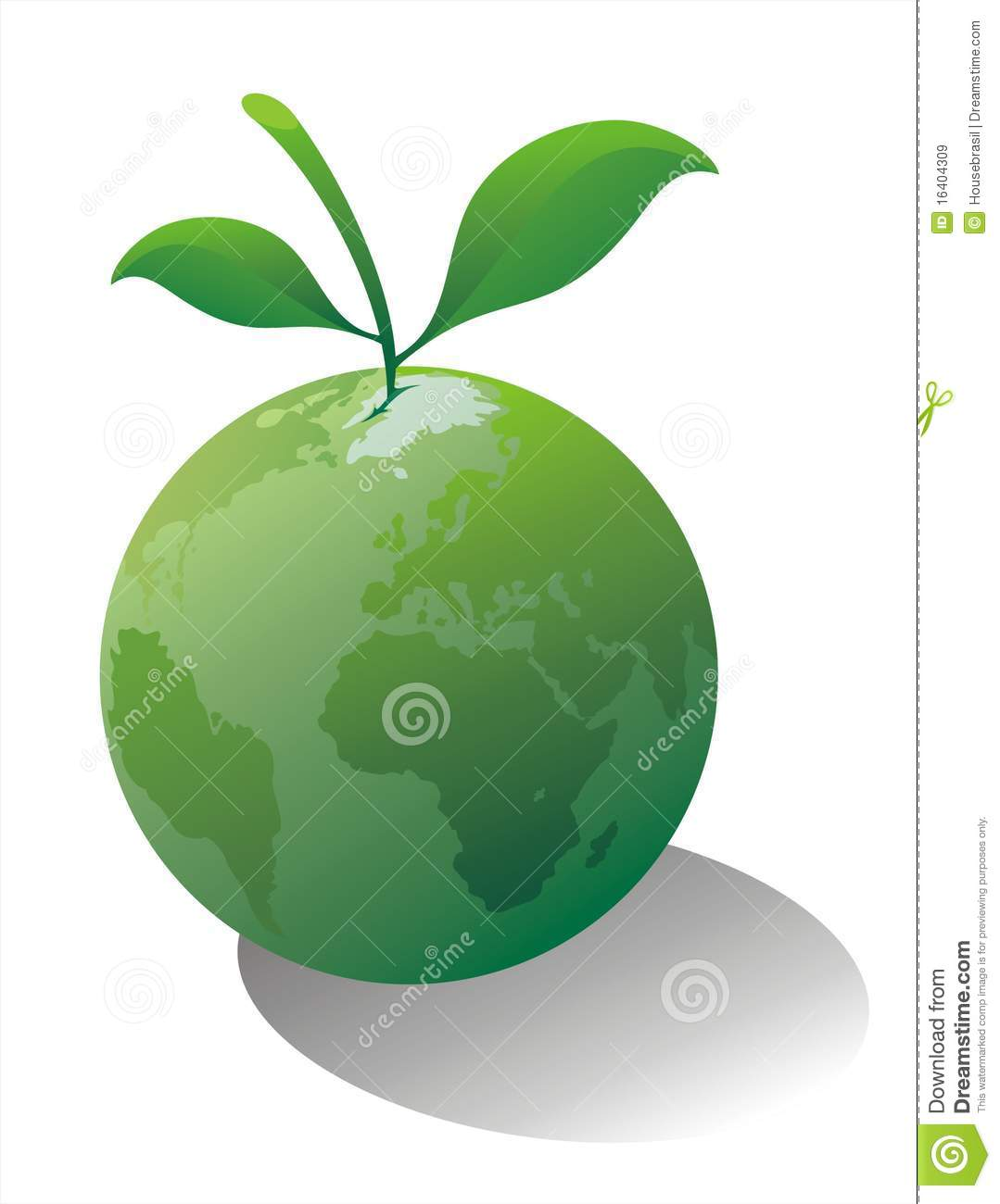 Earth As A Fruit Royalty Free Stock Images - Image: 16404309